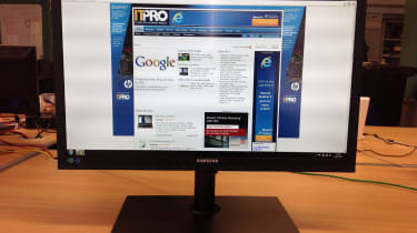 Samsung 24in 24A650X - front