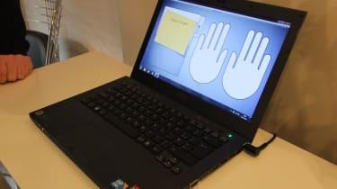 The fingerprint enrolment software on the Sandy Bridge Sony Vaio S