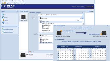 Netgear ReadyData 5200 - Replication across ReadyDATA appliances