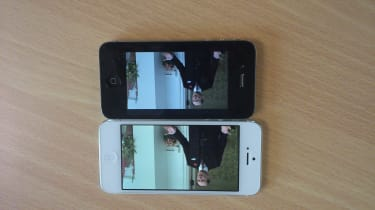 Apple iPhone 5 vs iPhone 4 - Size comparison