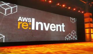 AWS keynote pics