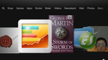 Amazon Kindle Fire HD - homescreen 1