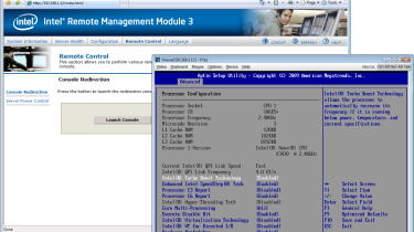 KVM-over-IP remote control is a standard RMM3 feature and all transmissions can be encrypted for greater security.