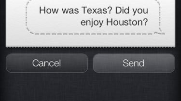 Siri on the Apple iPhone 4S