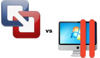 Parallels Desktop 7 vs VMware Fusion 4