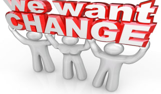 We want change sign