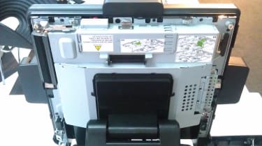 HP RP7 - Removable back