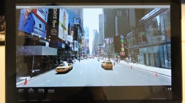 Google Maps Street View in Android 3.0 Honeycomb on the Motorola Xoom