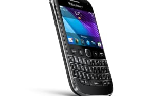 A BlackBerry phone