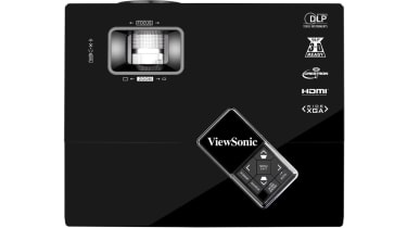 The top of the ViewSonic PJD6553w