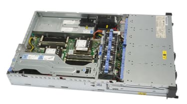 The interior of the IBM System x3620 M3