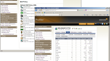 Policies can be used to control a variety of activities such as scanning agent-enabled servers and reporting on files.