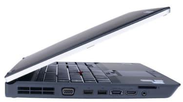 The left-hand side of the Lenovo ThinkPad E520