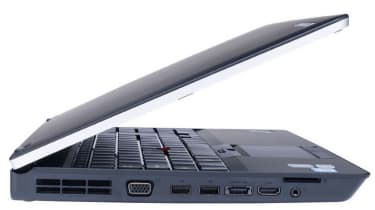 The left-hand side of the Lenovo ThinkPad E520