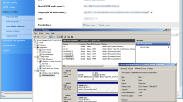 Snapshots can be presented to selected hosts for data restoration and will appear as read-only optical drives.