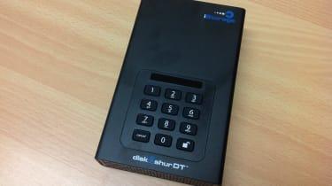 iStorage diskAshur DT - Keypad