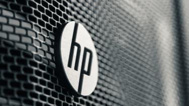 The HP logo