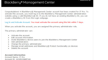 Step 3: Activate your account