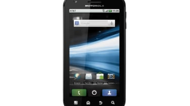 The Motorola Atrix Android 2.2 smartphone