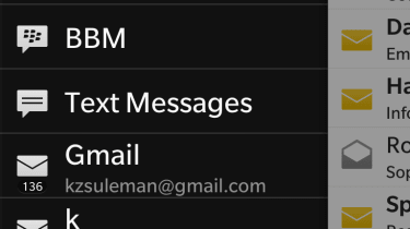 B10 - BlackBerry Hub