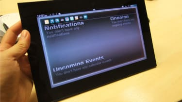 The Notifications screen in GridOS.