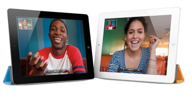 FaceTime video conferencing on the Apple iPad 2