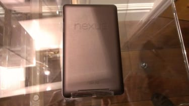 Google Nexus 7 - Rubberised back