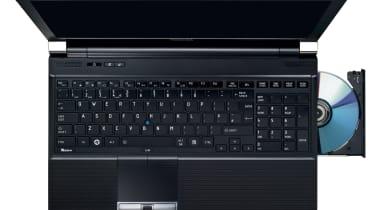 The 15.6in Toshiba Tecra R850 laptop