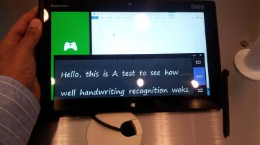 Lenovo ThinkPad 2 - Handwriting recognition