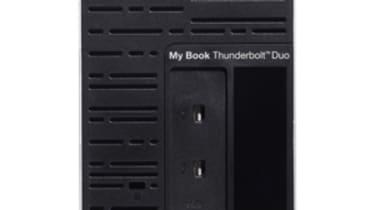 Western Digital MyBook Thunderbolt Duo - back