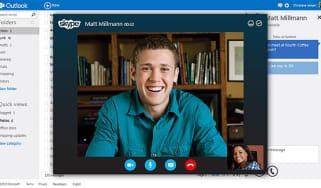 Outlook - Skype
