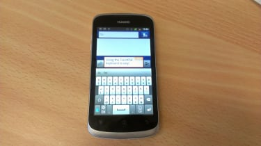 Huawei Ascend G300 - TouchPal portrait