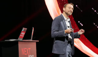 Dan McConnell Hitachi Vantara SVP at Next 2019 conference