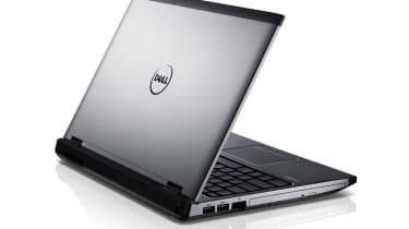 The Dell Vostro 3350 without the massive protruding battery.