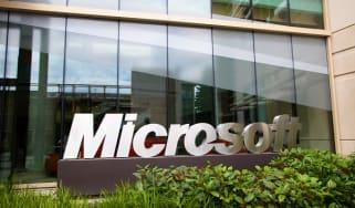 Microsoft HQ sign