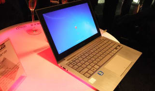 The Asus Zenbook Ultrabook.
