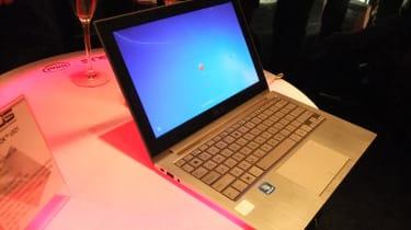 The Asus Zenbook Ultrabook.
