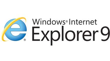The Internet Explorer 9 logo