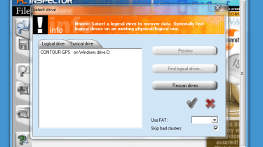 Step 3: Select the drive you want to recover files from