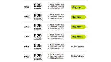 Three new iPad pricing details