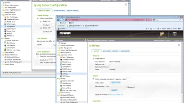 The latest firmware from QNap also adds a handy Syslog server function and anti-virus scanning and quarantining.