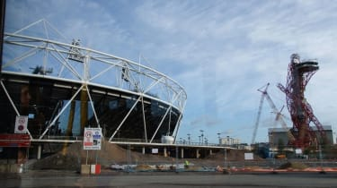 The London Olympics Stadium