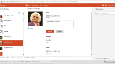 Outlook - Social networking