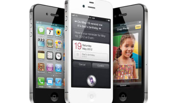 The Apple iPhone 4S is available in black or white.