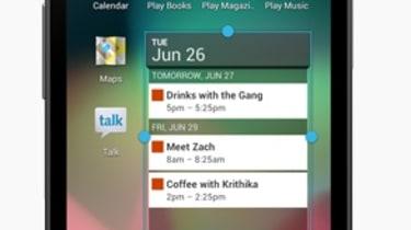 Google Android Jelly Bean - Widgets