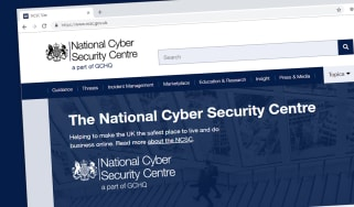 The NCSC's official web page