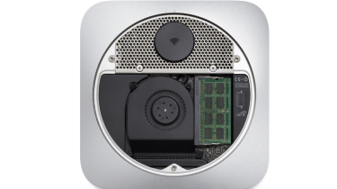 Apple Mac mini 2012 - back