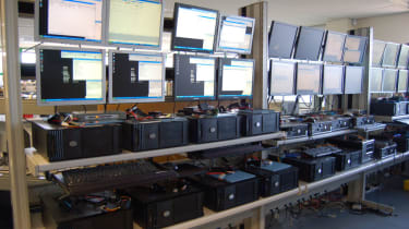 Kroll Ontrack's imaging computers