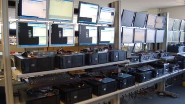 Kroll Ontrack's imaging computers