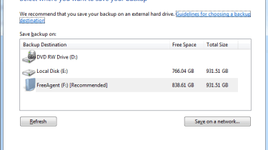 Although it supports image backup, Windows 7 Backup is a bit primitive compared to Time Machine.